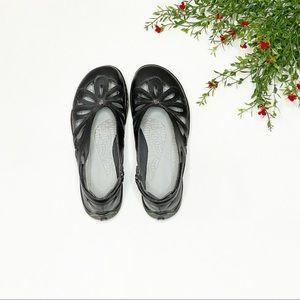 JBU Adventure Black Juniper Flats - Size: 7